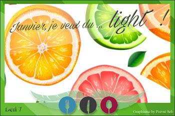 Defi de janvier 2016 - Je veux du light
