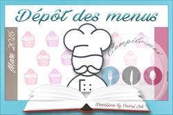 Dépôt des menus DEFI MARS 2016_Dessert de chef copie