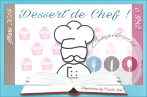 DEFI Dessert de chef mars 2016