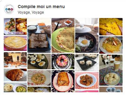 Voyage, Voyage – Tableau Pinterest et dépôt des menus images 1