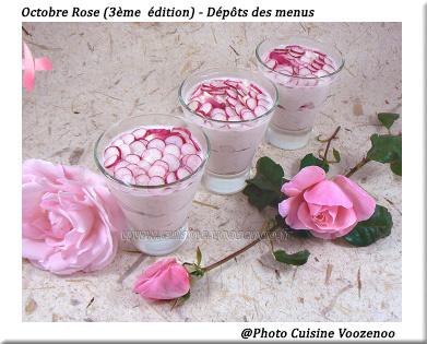 Octobre, la cuisine Rose – Tableau Pinterest et dépôt des menus