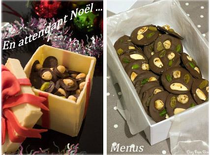 En attendant Noël – Tableau Pinterest et dépôt des menus images 0