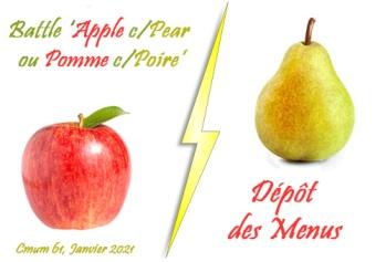 menus pomme-poire