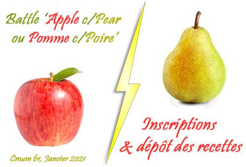recettes pomme-poire