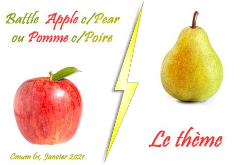 theme pomme-poire