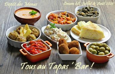 menus Tapas